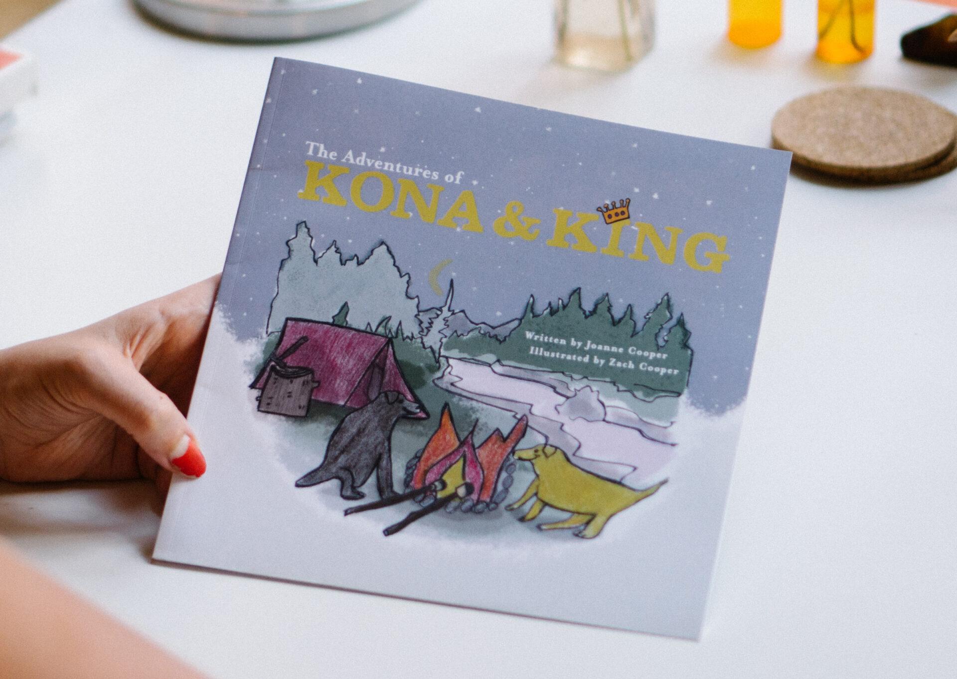 The Adventures of Kona & King Children's Book